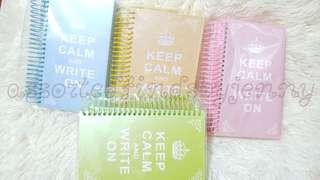 kerp calm notebook