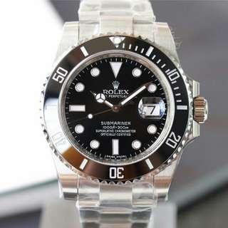 Rolex勞力士手錶黑水 鬼潛航者系列自動機械錶116610LN-97200