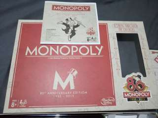 MONOPOLY LIMITED EDITION (80th Anniversary Edition) include Special Token