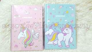 undated unicorn planner