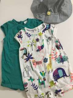 Next Baby Romper Set (3-6mths)