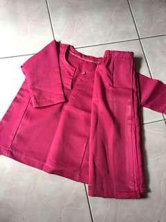 Kurung Pink