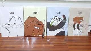 we bare bears sketch book