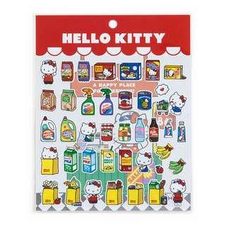 Japan Sanrio Hello Kitty Sticker (American Supermarket)