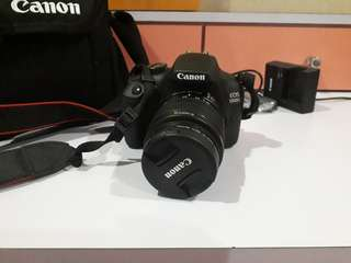 Canon EOS 1300D with Bag, and Accessories