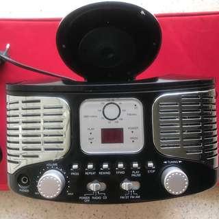 Portable Radio and CD Player
