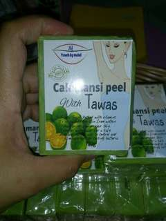 Calamansi peel with tawas