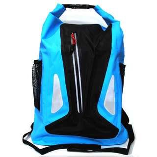 Tas Ransel Bucket Dry Bag Waterproof - OB-107 - Blue