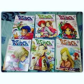 Witch Vol 1 - 6 IDR 15.000/set