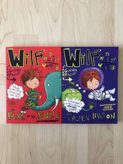 Wilf the Mighty Worrier is King of the Jungle / Wilf the Mighty Worrier and the Alien Invasion By Georgia Pritchett