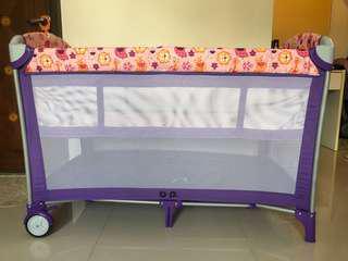 多功能嬰兒網床(可摺合)