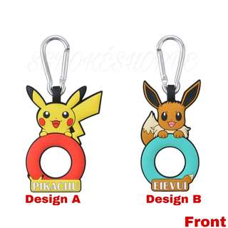 [PO] ASSORTED PET BOTTLE HOLDER WITH CARABINER [SCIENCE IS AMAZING] - POKEMON CENTER EXCLUSIVE