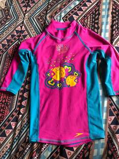 Speedo Rash Guard for Kids