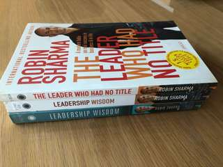 Robin Sharma Leadership series