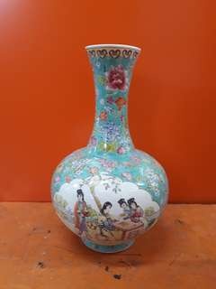 "15""hight  Old porcelain vase/bottle"