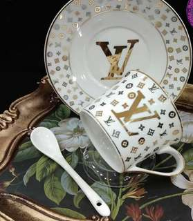 LV Cup and Saucer