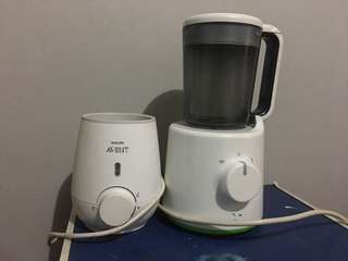Avent warmer and food maker