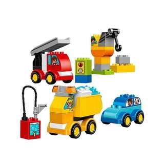 🚚 LEGO樂高積木 duplo得寶系列 10816 我的第一輛汽車和卡車 全新