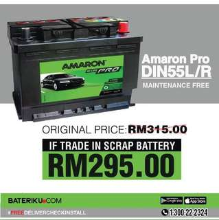 Car Battery Bateri Kereta Amaron