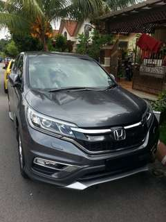 Honda Crv 2.0(A) 2017 Rent