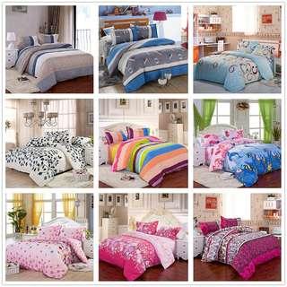 All Size Duvet Cover w/ Pillow Case Quilt Cover Bedding Set