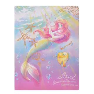 JAPAN DISNEYSTORE, JAPAN IMPORTED: A5 Memo/Sticky Note pad : Princess Water color series A5 Memo Pad