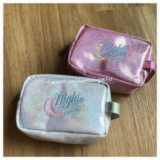 (Instock) New! Makeup Glitter Tassel Pouch/ Pencil Case/Storage Pouch
