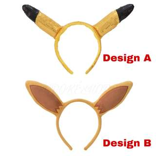 [PO] ASSORTED EAR HEADBAND [SCIENCE IS AMAZING] - POKEMON CENTER EXCLUSIVE
