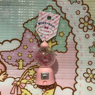 marron cream rose aromatic keychain 玫瑰香味匙扣