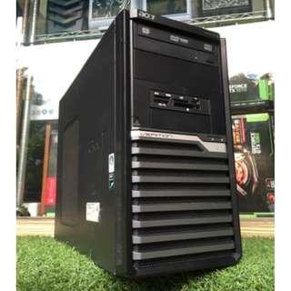 【電電電腦】二手 ACER VERITON商用機種 G840/4G/獨顯/一鍵還原 (LOL/天堂M/楓之谷) 有WIN7序號貼