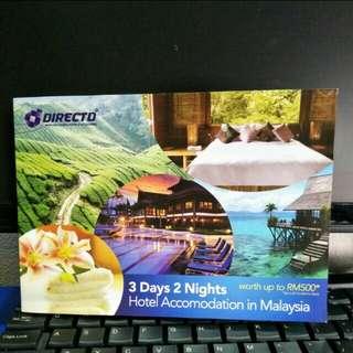 3days 2night Hotel Accommodation Voucher