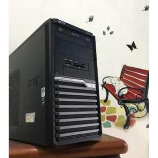 【電電電腦】二手ACER 商用機 XEON/4G/D5獨顯/一鍵還原/WIN7序號貼 (天堂M/LOL全開/楓之谷全開)