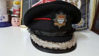 英國消防隊署長帽
