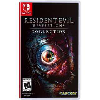Nintendo switch : resident evil collection