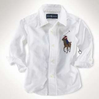 Polo Long Sleeve Shirt - White