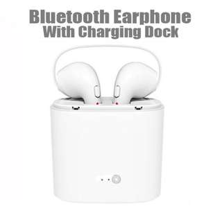I7s twin side earphone with charging box
