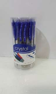Popular Bookstore Crystal Retractable Ball Point Pens