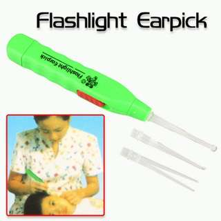 New LED Flashlight EarPick Ear Pick Wax Remover Curette Cleaner Care Tool (BUY ONE FREE ONE)