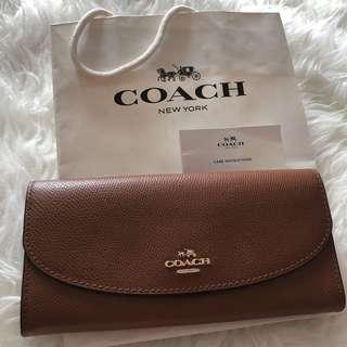 Coach Women Calf Leather Wallet