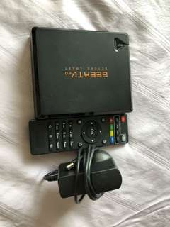 Geek TV Android Box