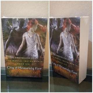 English Novel City of Heavenly Fire BestSeller by Cassandra Clare