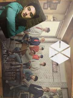 Love Me Right: Romantic Universe (+DVD) D.O 小卡