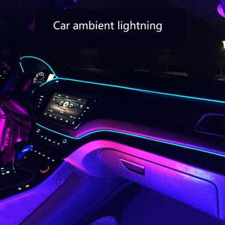 Car led stripe ambient lightning dashboard led like S class