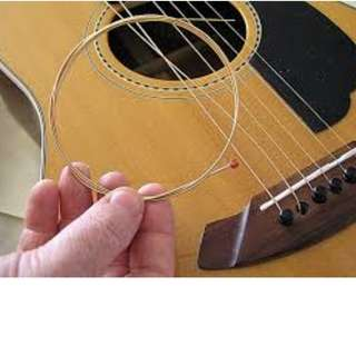 Re-string for guitar and ukulele