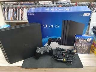 PS4 Pro Console 1TB CUH-7006B + Dissidia NT Final Fantasy (Used Console)