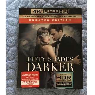 """🚚 """"(4K UHD) Fifty Shades Darker (2017)"""" 4K Ultra HD Blu-ray"""
