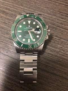 116610lv 綠綠 2012年錶