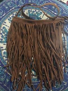 Boho Tassel Shoulder Bag