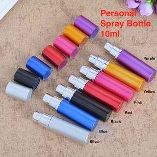 🌻Personal Glass Spray Bottle 10ml