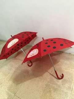 Red Polkadot Umbrella